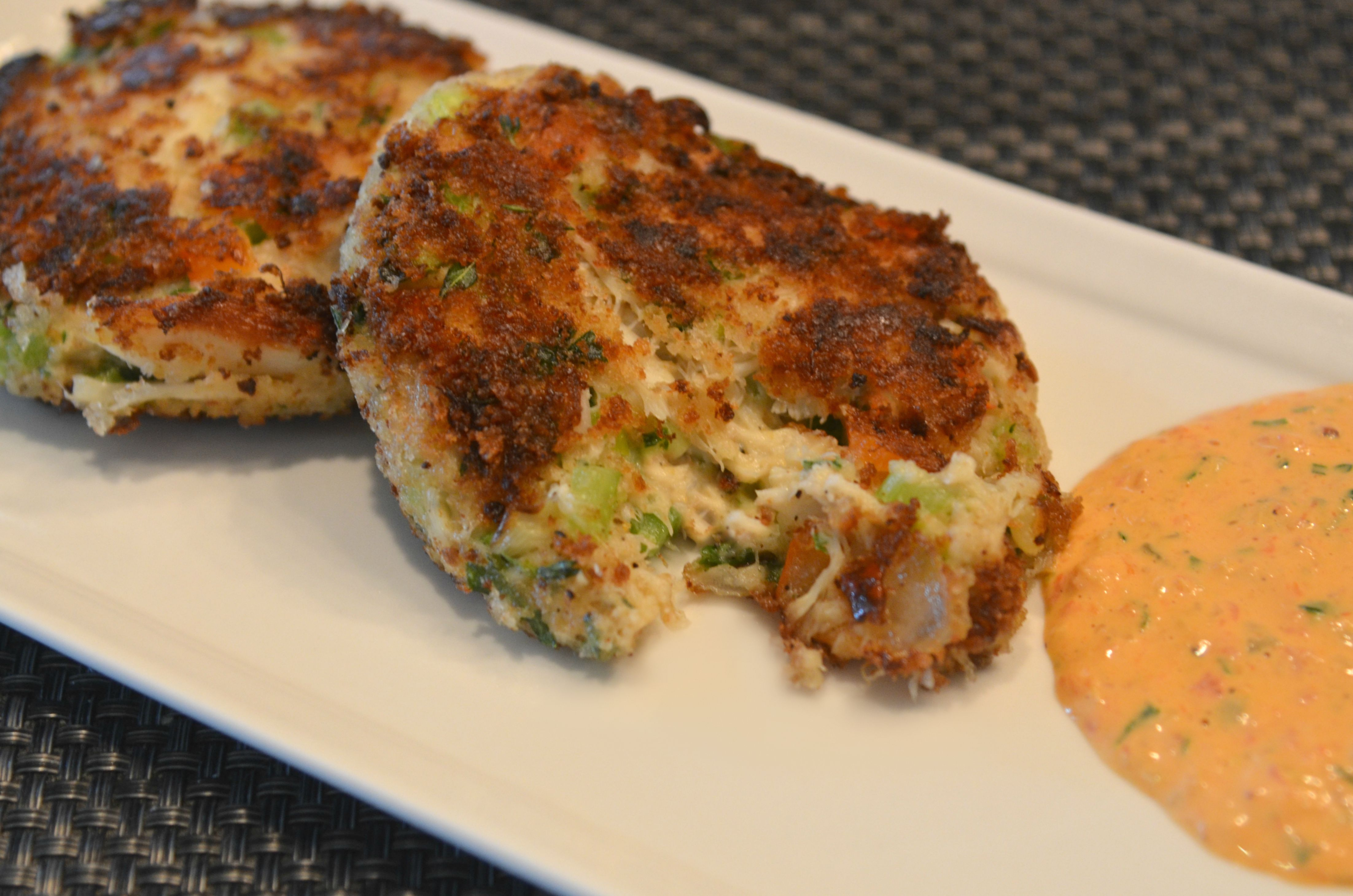 Roasted Red Bell Pepper Sauce For Crab Cakes